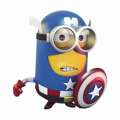 Minion America Captain Sticker Autocollant Minions Stickers