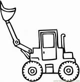 Shovel Coloring Snow Pages Transport Steam Scoop Printable Land El Template Colouring Special Tractor Coloringpages101 Vehicle Templates Getcoloringpages sketch template