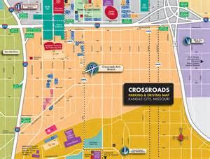 Kansas City Crossroads District Map