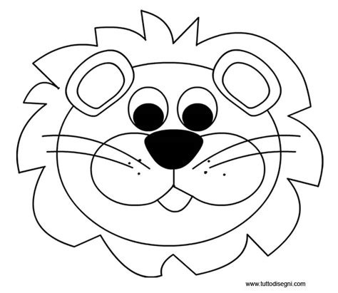 maschere da colorare animali maschere di animali da colorare