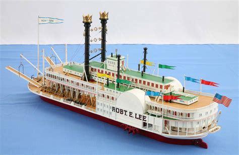 Steam Boat Model by Ship Model Mississippi Steamboat Robert E Of 1866