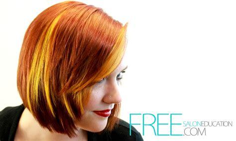 color block hair hair color tutorial block hair color technique