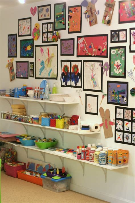 Playroom Design Our Art Room