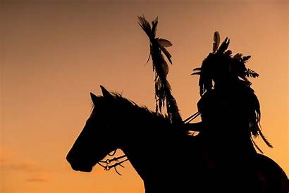 Native American Indian Wallpapers Horse Background Silhouette
