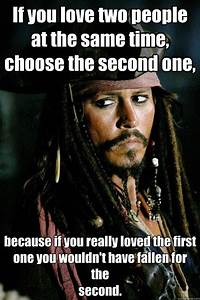 jack sparrow meme | ... two people at the same time choose ...