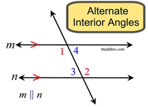 alternate interior angles angles and parallel lines mathbitsnotebook geo ccss math