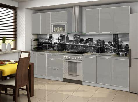 cuisine compl鑼e cuisine complete porta gris 2m60 destockage grossiste