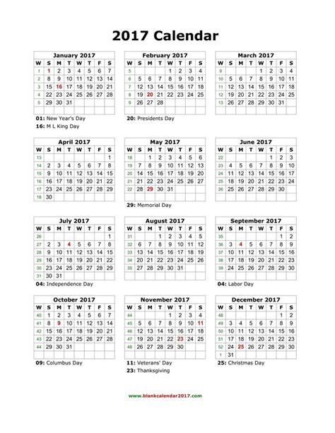 blank holidays calendar  portrait printable yearly