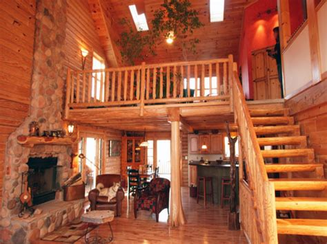 Log Home Floor Plans With Loft Log Cabin Floor Plans