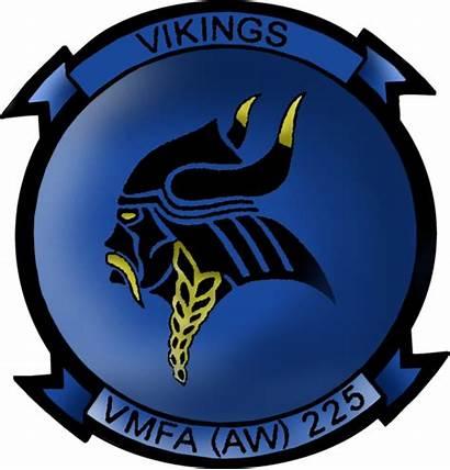 Vmfa 225 Aw Insignia Marine Squadron Fighter