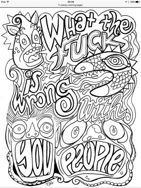 Adult coloring (With images)   Words coloring book, Adult