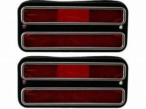 For 1968 C3500 Pickup Side Marker Light Set