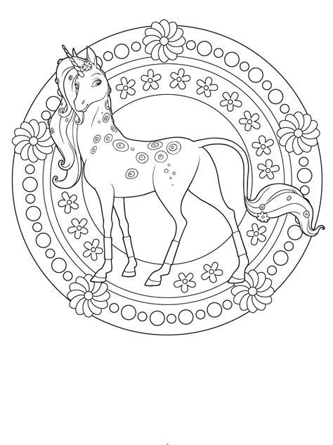 ausmalbilder pferde mandala basteln fuer und mit kids ausmalbilder pferde ausmalbilder und