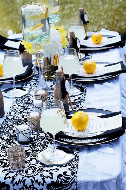 Bridal Shower Party Lemonade Lemon Lemons Bee