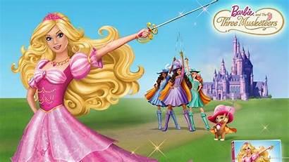 Barbie Wallpapers Musketeers Three Fondos Cartoon Pantalla