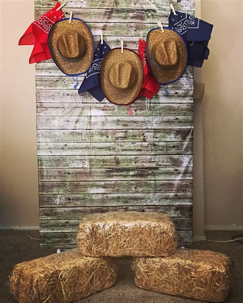 diy western party decor billingsblessingbagsorg