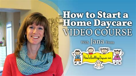 course how to start and run a home daycare 792 | Online Video Course %E2%80%93 How to Start and Run a Home Daycare Business