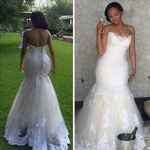 real picture 2016 white lace mermaid wedding dresses plus With plus size lace mermaid wedding dresses