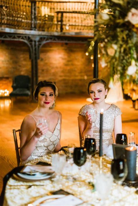 Great Gatsby Themed Wedding POPSUGAR Love &Photo 22