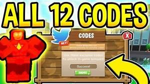 All 12 New Power Simulator Codes   Roblox