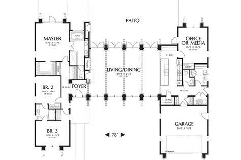 shaped house floor plans   shaped house floor plans