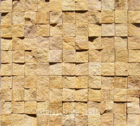 brown wall stone cladding tiles thickness   size