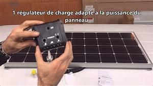 Régulateur Pour Panneau Solaire : kit panneau solaire 12v antarion pour camping car bateau fourgon youtube ~ Medecine-chirurgie-esthetiques.com Avis de Voitures