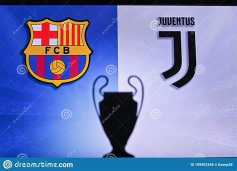 NYON, SWISS, NOVEMBER 2. 2020: Barcelona Vs. Juventus ...