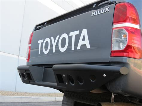 toyota hilux front bumper rear bumper and side steps add offroad