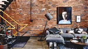 home interiors warehouse industrial loft style apartment in a former melbourne