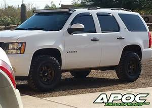 07 Silverado Led Lights 07 14 Chevy Tahoe Apoc Roof Mount For 52 Quot Curved Led Light
