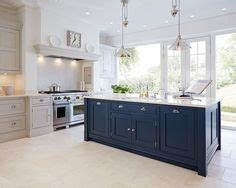 what is island kitchen you considered using blue for your kitchen cabinetry 7039