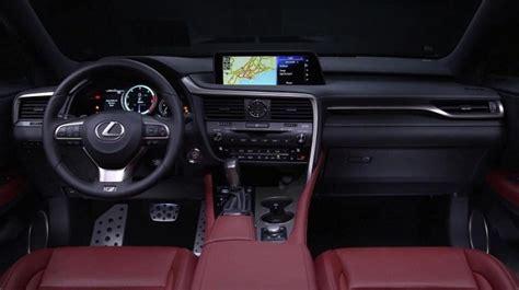 lexus suv rx 2017 interior 2017 lexus r 350 exterior interior and release date