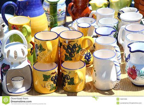 pottery handcraft jar cup  mediterranean royalty