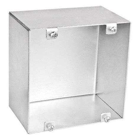 electrical junction box cover 4 11 16 blank welded junction box 3 in no 7040