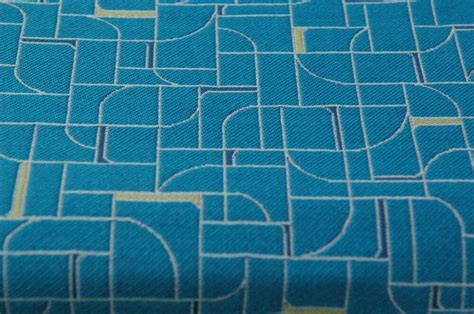 Contemporary Geometric Modern Upholstery Fabric 7.5 Yds