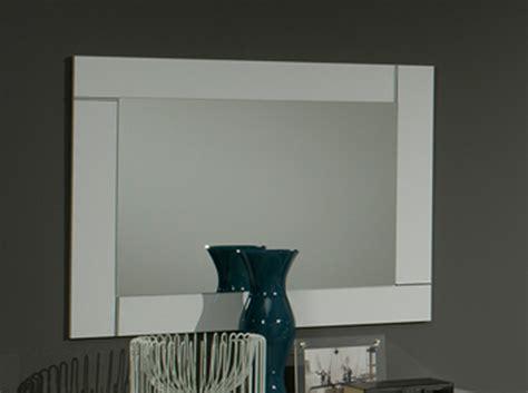miroir chambre miroir city laque blanc chambre à coucher