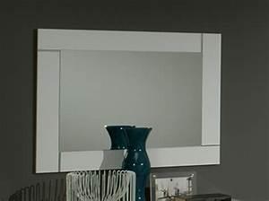 miroir city laque blanc chambre a coucher blanc With miroir chambre a coucher