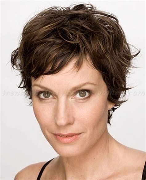 Messy Short Hairstyles Women Over 50