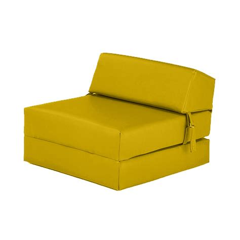 fold up futon faux leather fold out z bed single futon chair bed