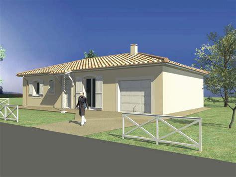 plan de maison 4 chambres modele maison maison 3 chambres et garage toiture 4