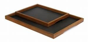 Tablett Aus Holz : tablett basic serviertablett aus holz von sidebyside design ~ Buech-reservation.com Haus und Dekorationen