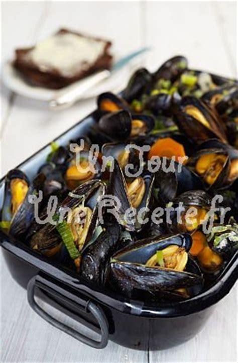 moules marinieres recette facile  jour une recette