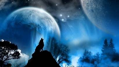 Wolf Moon Howling 1080p Background Pc Pixel