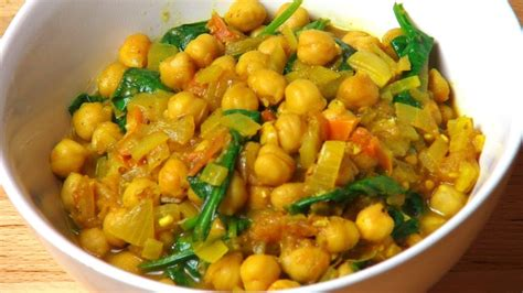 chickpea curry  pot chef youtube