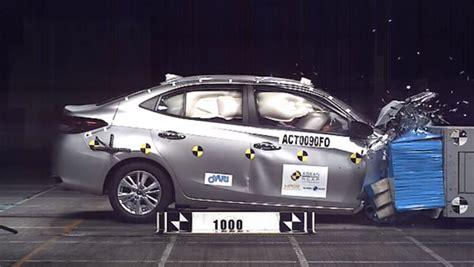 toyota yaris crash test asean ncap ratings  video