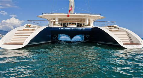Biggest Charter Boat In The World by Live Bid For 8 Days Caribbean Charter Aboard Hemisphere