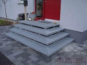 Außen Treppenstufen Beton : treppenstufen au en metall my55 hitoiro ~ Michelbontemps.com Haus und Dekorationen