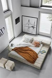 Deco Chambre Moderne : photo chambre zen de style minimaliste ~ Melissatoandfro.com Idées de Décoration