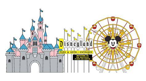 Disneyland Logo Clipart